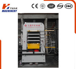 China Hydraulic Plywood Hot Press Machine For Doors 30KW 500T-1800T Pressure supplier