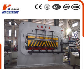 China Single Veneer Decoration Borad Automatic Hydraulic Press Machine PLC Control supplier
