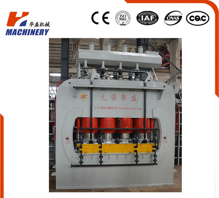 China Laminated Wood Hydraulic Hot Press For Plywood Veneer , Hot Press Plywood Machine supplier
