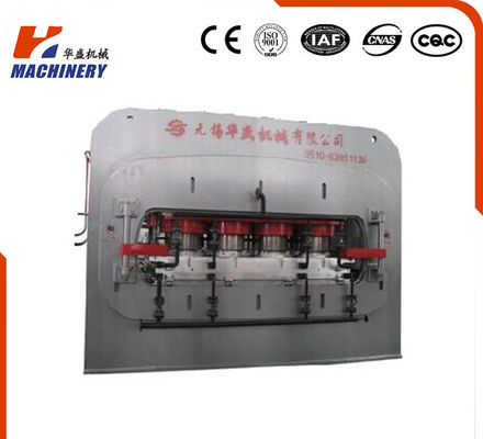 China High Effciency Automatic Laminate Hot Press Machine Short Cycle For Laminated Flooring supplier