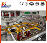 China Hot Press Plywood Lamination Line Short Cycle With Auto Trimmer factory