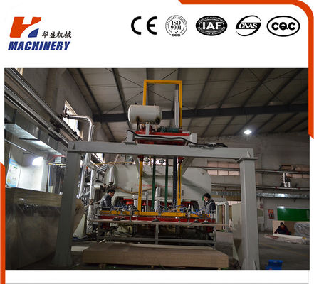 Automatic  Short Cycle Hot Press Lamination Line 22KW With PLC Controller