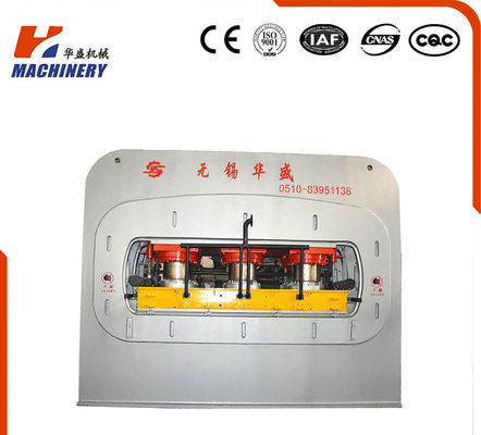 HUASHENG Furniture Board Lamination single venner overhead Machine