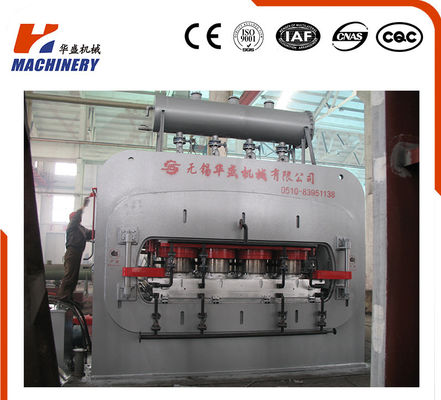 China Hot Press SMC Mold Press Machine For Laminating MDF/ HDF Door Skin Press Machine factory