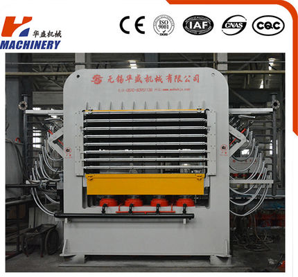 Primarily Melamine Faced Particle Board Hot Press Machine For Woodworking Machinery