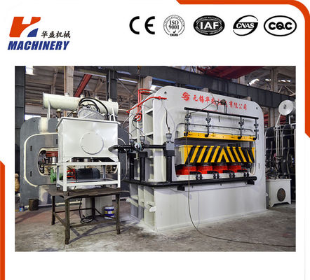 High Effciency Automatic Furniture Lamination Machine Hydraulic Single Venner Hot Press