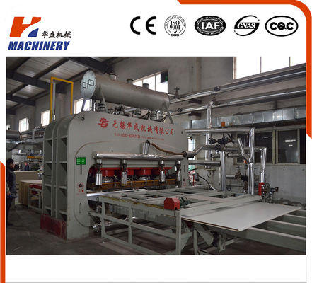 China Melamine Furniture Board Lamination Line Auto Short Cycle 7'X9' 3200T factory