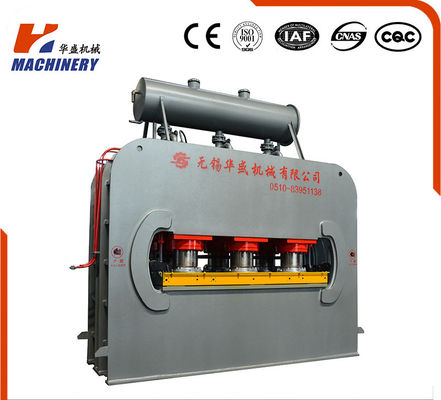 China CE Certificated Hydraulic Hot Press Machine For Laminating Furniture Board factory