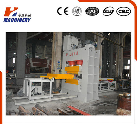 China Custom Compressed Wood Pallet Mold Press Machine 15kw Power factory