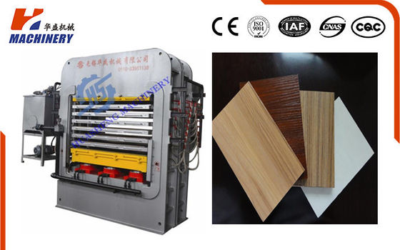 China Automatic Door Skin Press Machine Wood Cabinet Door Making Machine factory