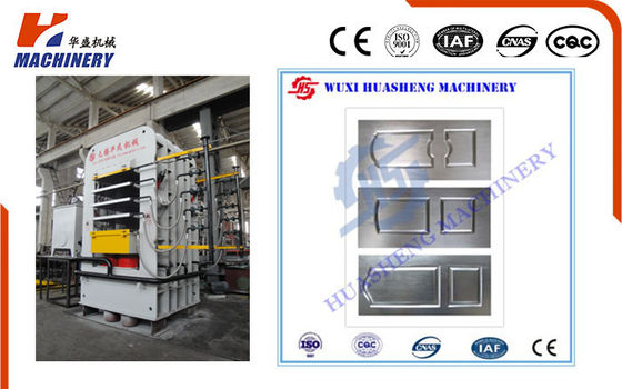 China Mechanical Door Skin Press Machine For Natural Veneer Door Skin factory