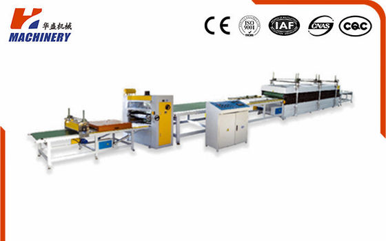 China HF900 Hot Melt Glue Pur Laminating Machine Composite Line 14kw factory