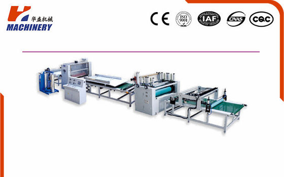Pur Laminating Machine HF1300 Hot-Melt Glue For Board Thickness 2-50mm