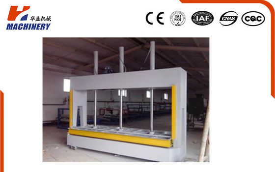 China Woodworking Hydraulic Cold Press Laminating Machine 80T For Plywood Doors factory