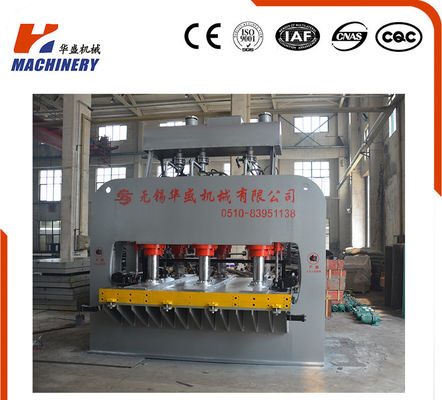 China SMC Moulding Hydraulic Wood Press Machine Manufacturer 15kw Power factory