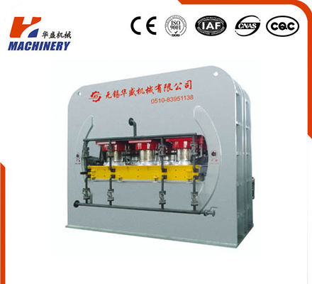 Double Sided Laminate Hydraulic Hot Press Machine For Commercial Board Flooring